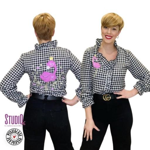 Camisa Vichy Flamenco - PixelizatexStudio16 [2]