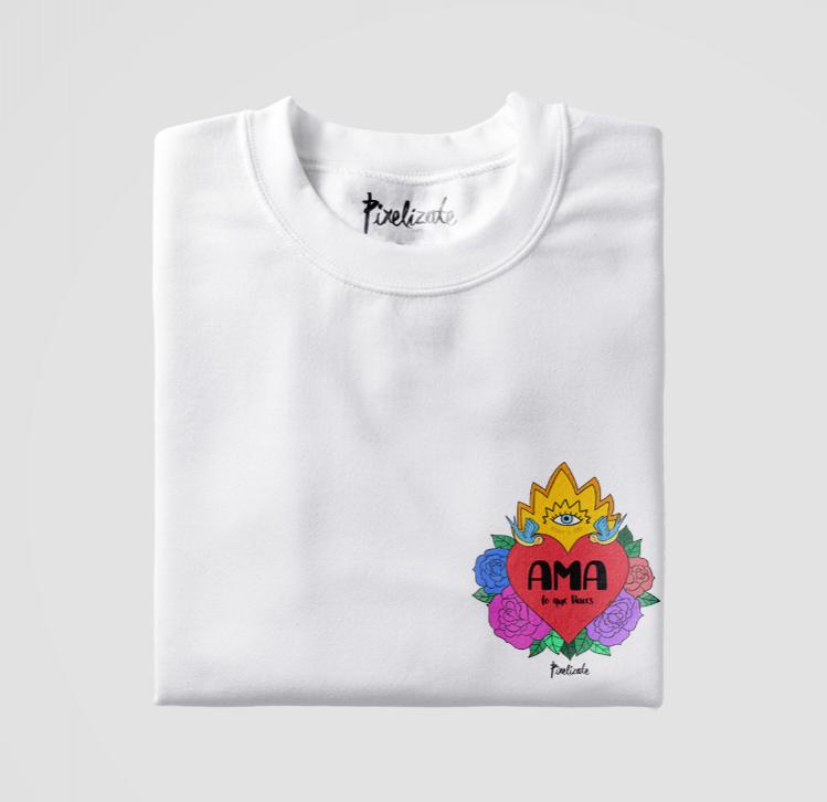 Camiseta Unisex Ama lo que Haces