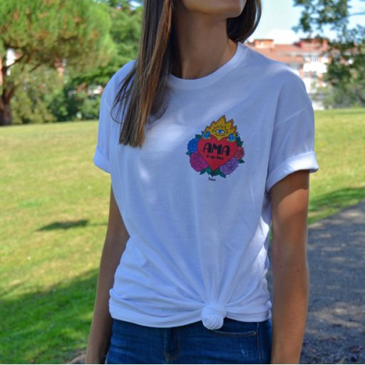 Camiseta Unisex Ama lo que Haces [2]