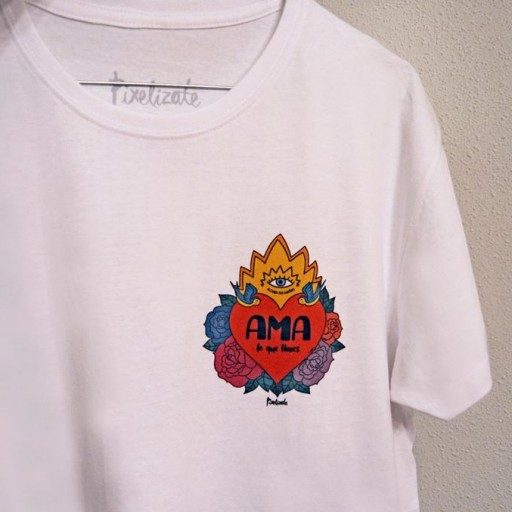 Camiseta Unisex Ama lo que Haces [3]
