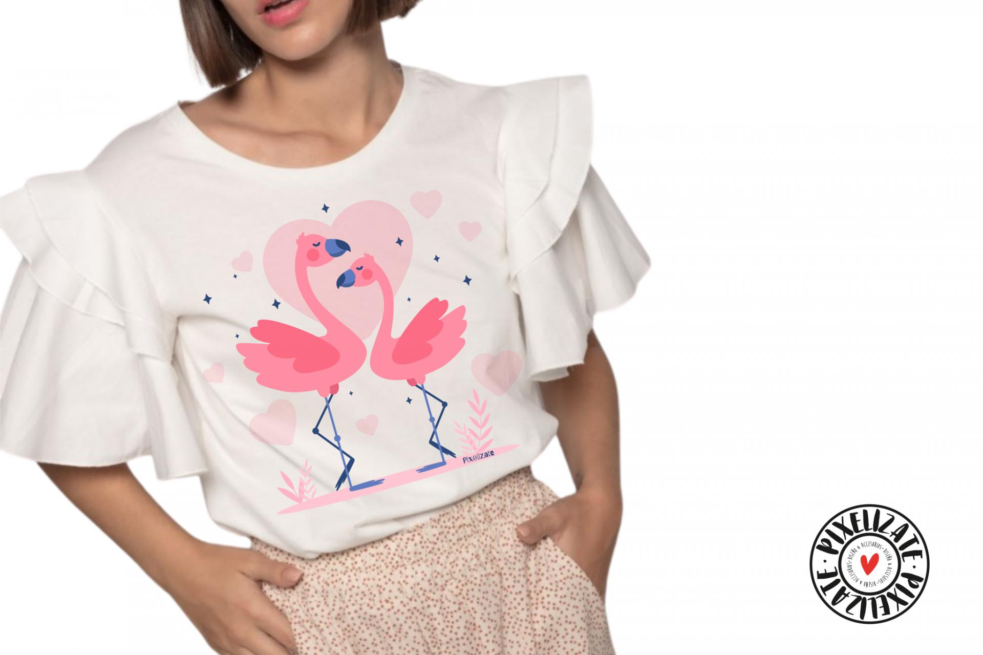 Camiseta Amor Flamenco