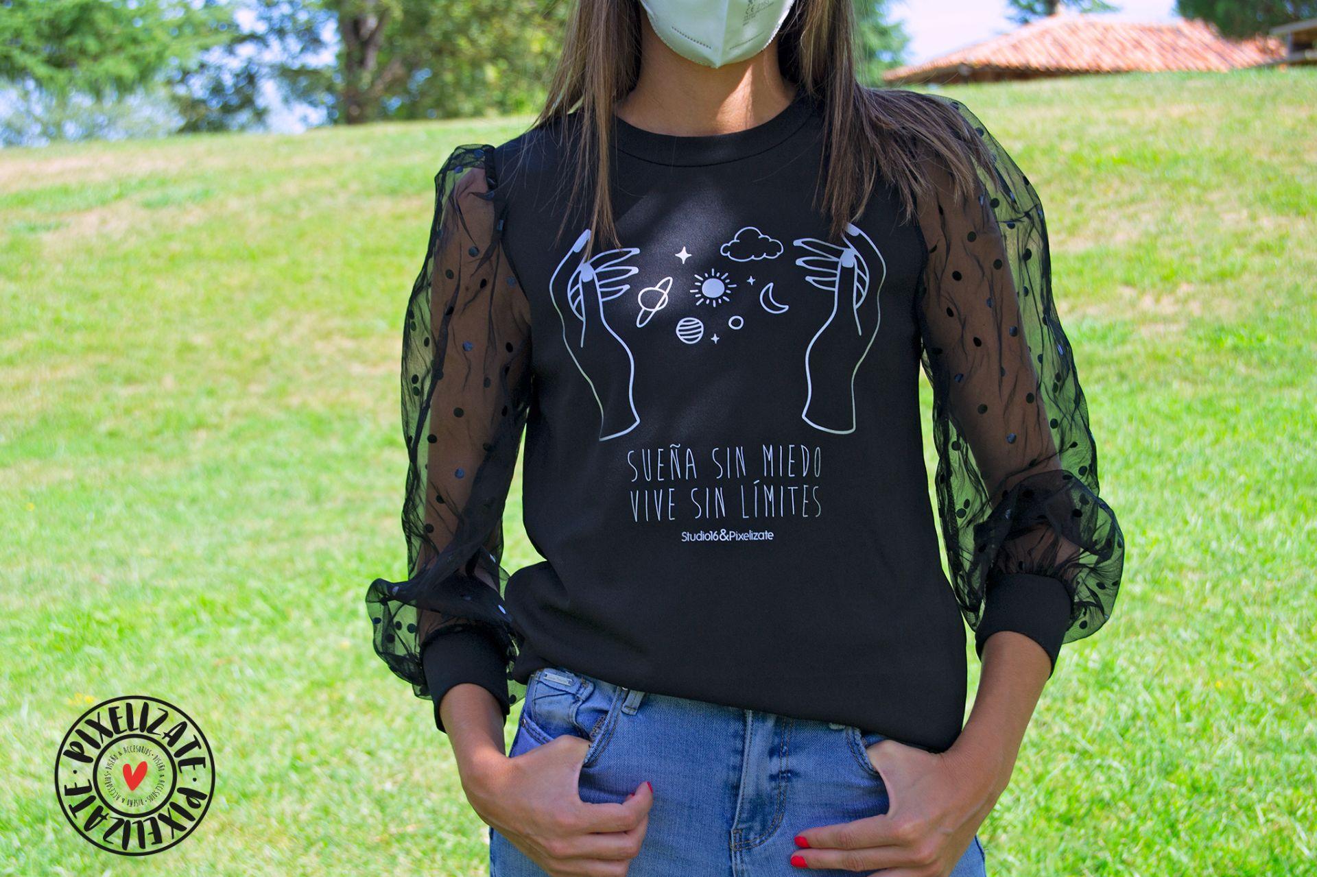 Camiseta Sueña Sin Miedo - PixelizatexStudio16