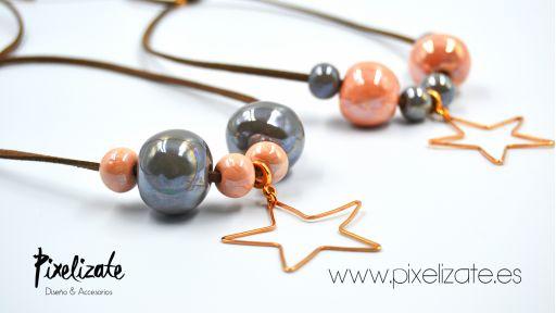 Collar Candy Estrella Gris [1]