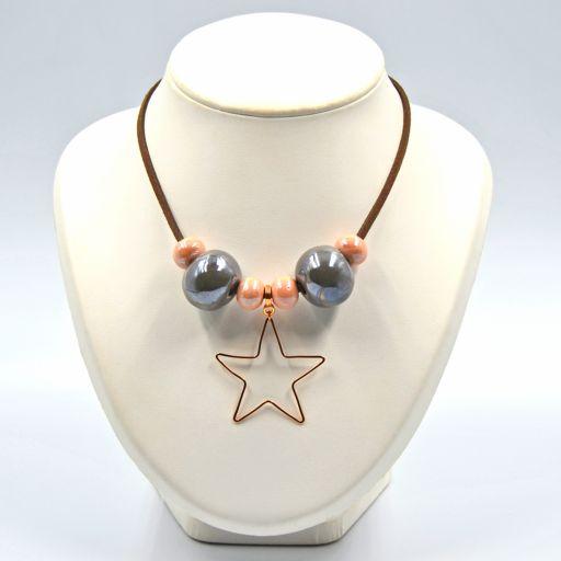 Collar Candy Estrella Gris