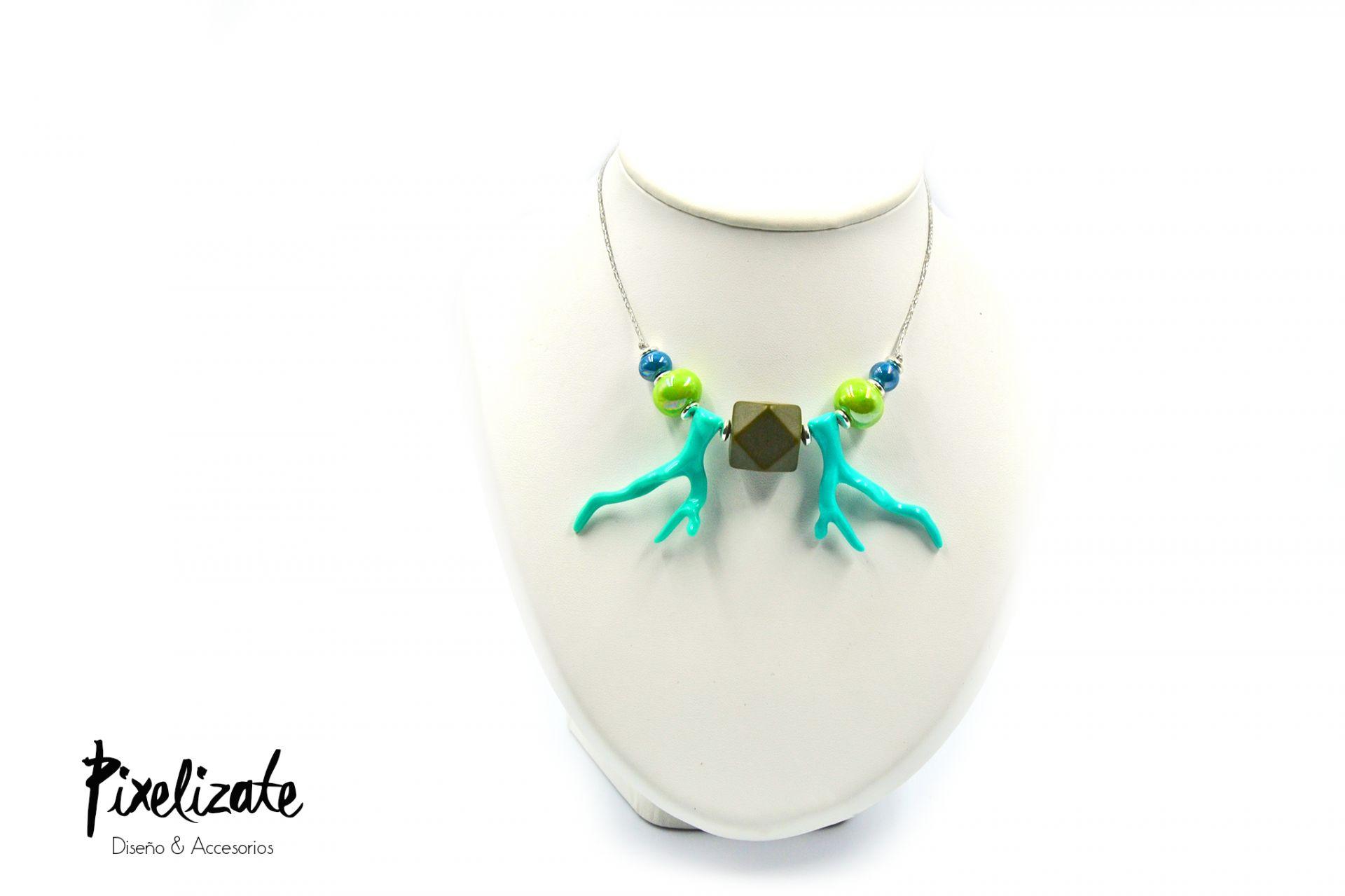 Collar Coral Azul