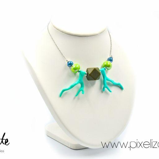 Collar Coral Azul [1]
