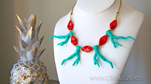 Collar Coral Turquesa [1]