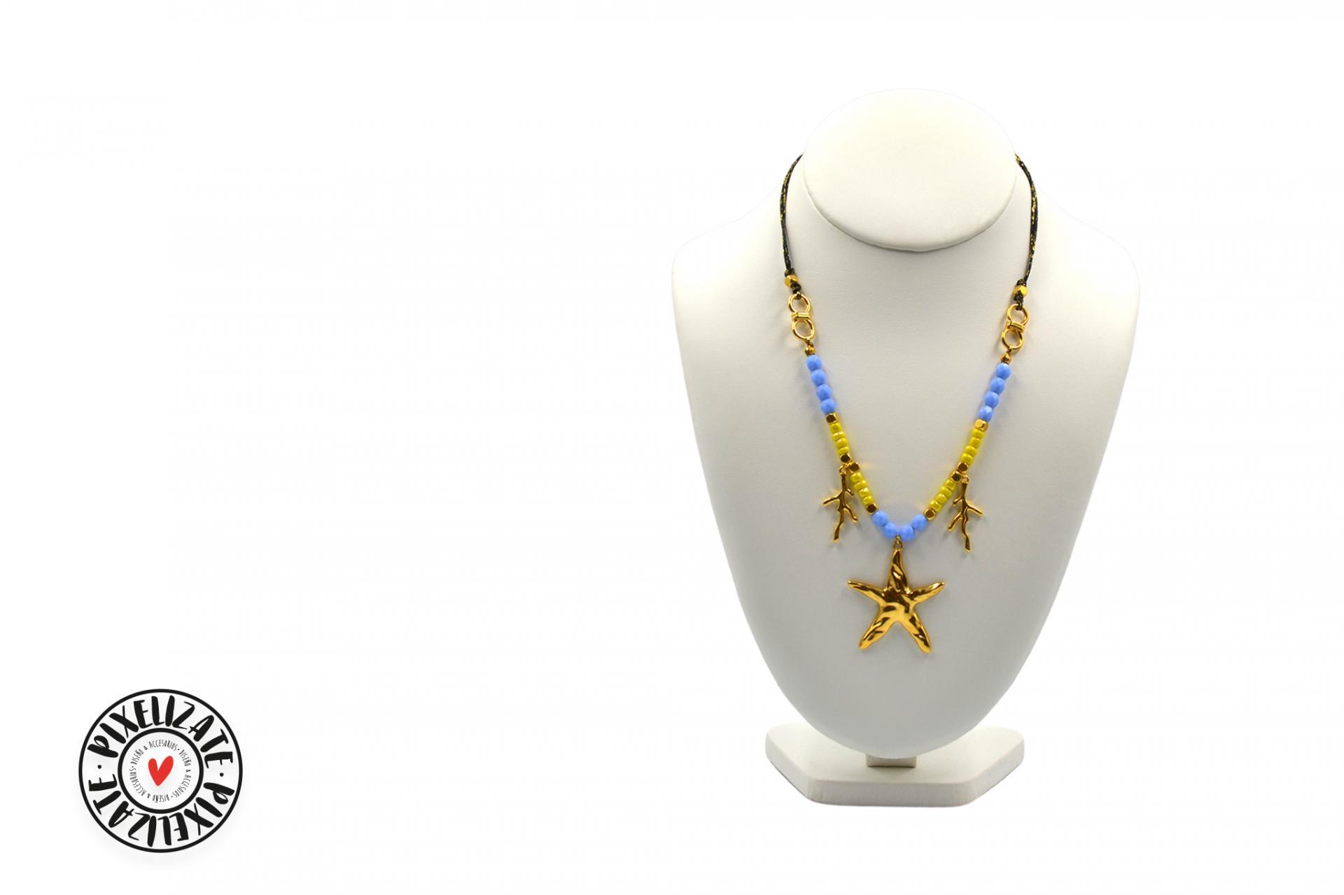 Collar Estrella Dorado