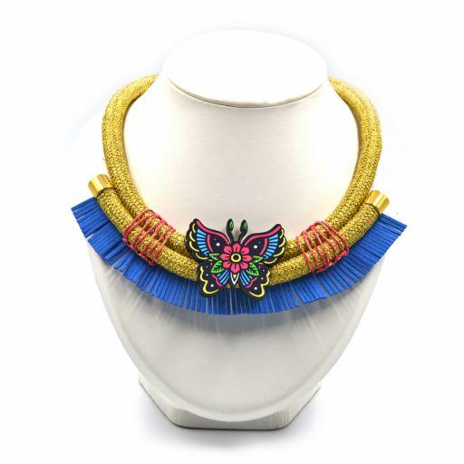 Collar Mariposa Brilli