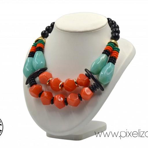 Collar Resinas Tribal [1]