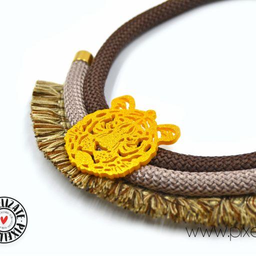 Collar Tigre Marrón [1]