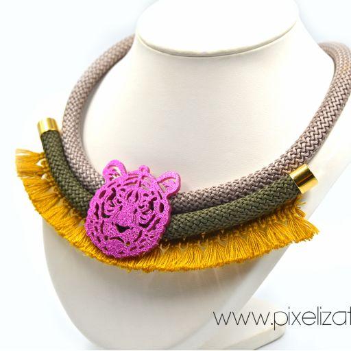 Collar Tigre Mostaza [1]