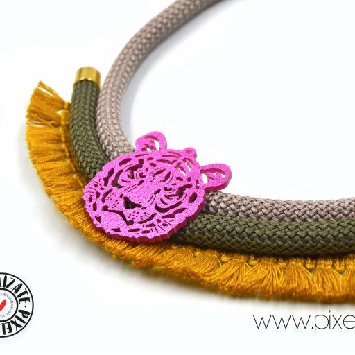 Collar Tigre Mostaza [2]