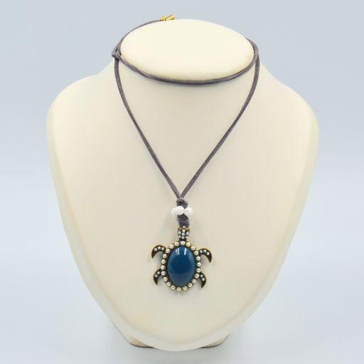 Collar Tortuga Azul [0]