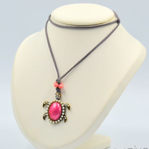 Collar Tortuga Rosa [1]