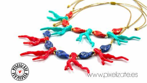 Collar Coral Turquesa [2]