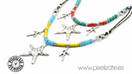 Collar Estrella Plata Tropic [2]