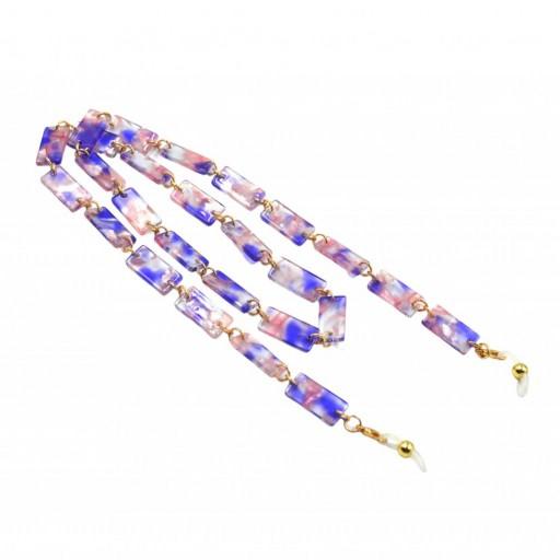 Cadena Cuelgagafas Marmol Violet