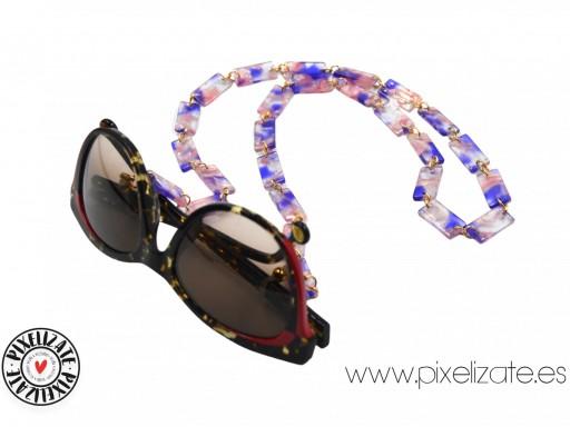 Cadena Cuelgagafas Marmol Violet [2]