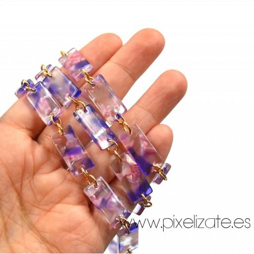 Cadena Cuelgagafas Marmol Violet [3]
