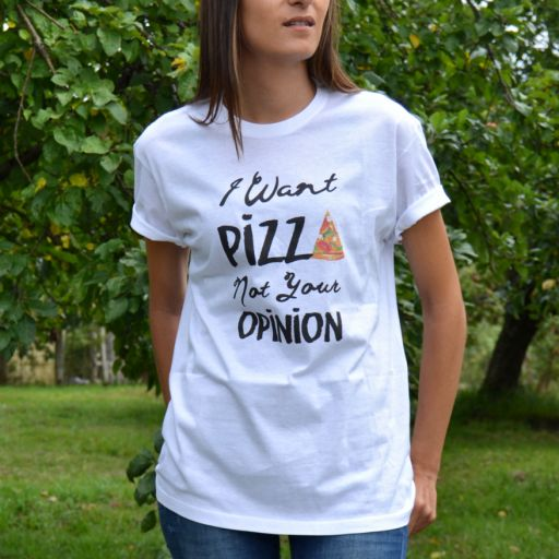 Camiseta Unisex Pizza