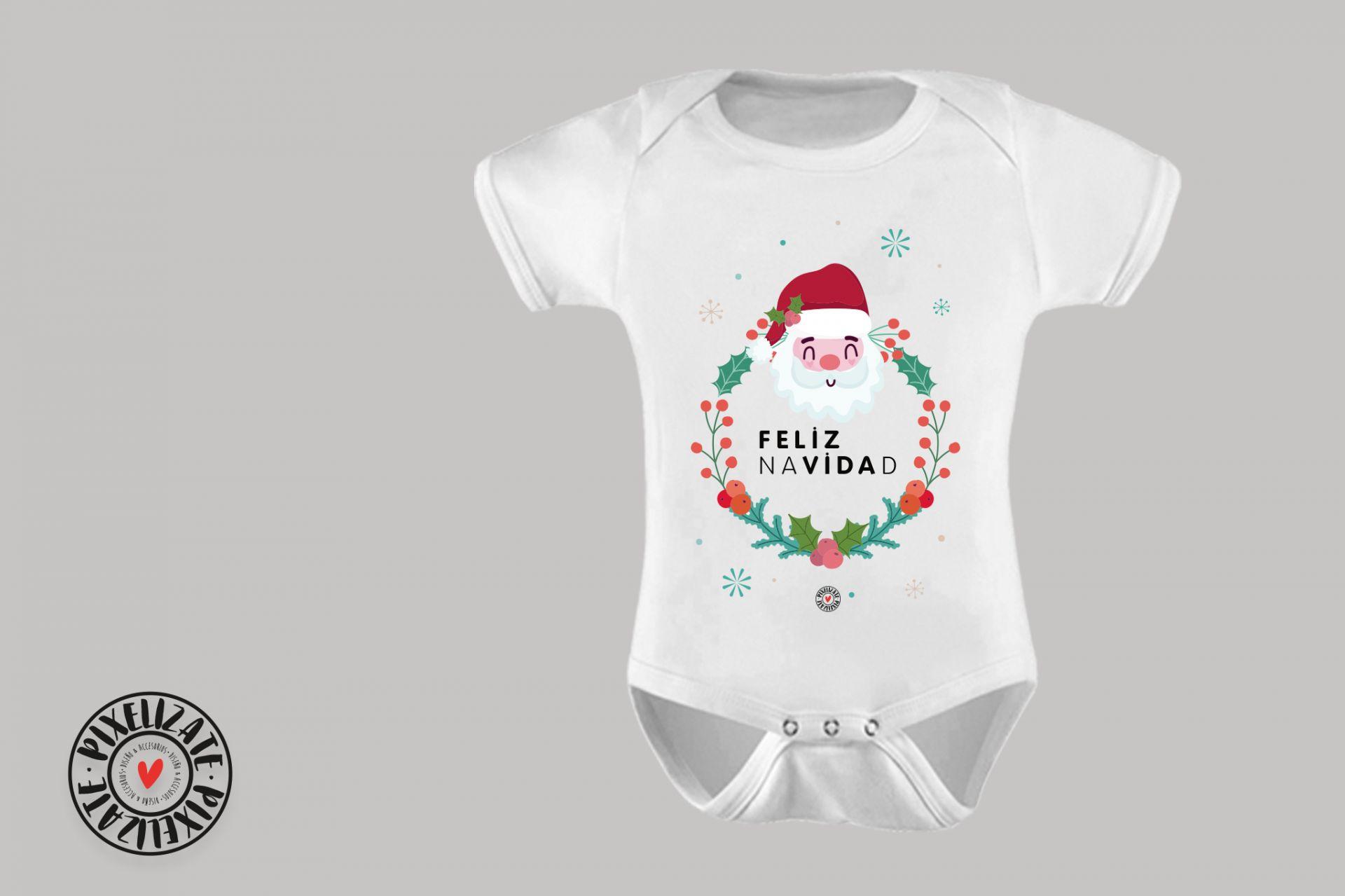 Body Bebé Feliz Navidad