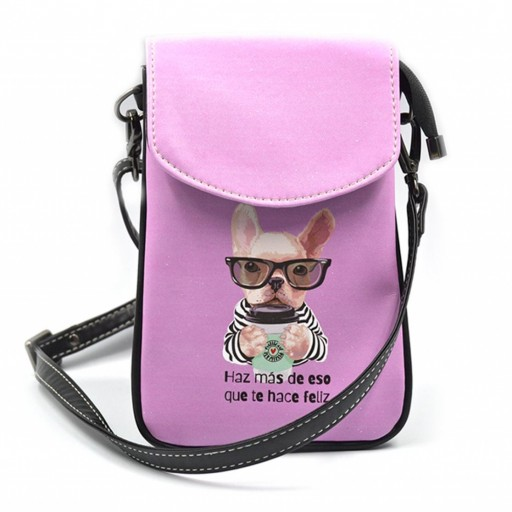 Mini Bolso para Móvil Frenchie