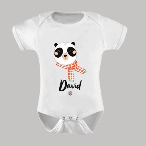 Body Bebé Panda Personalizado
