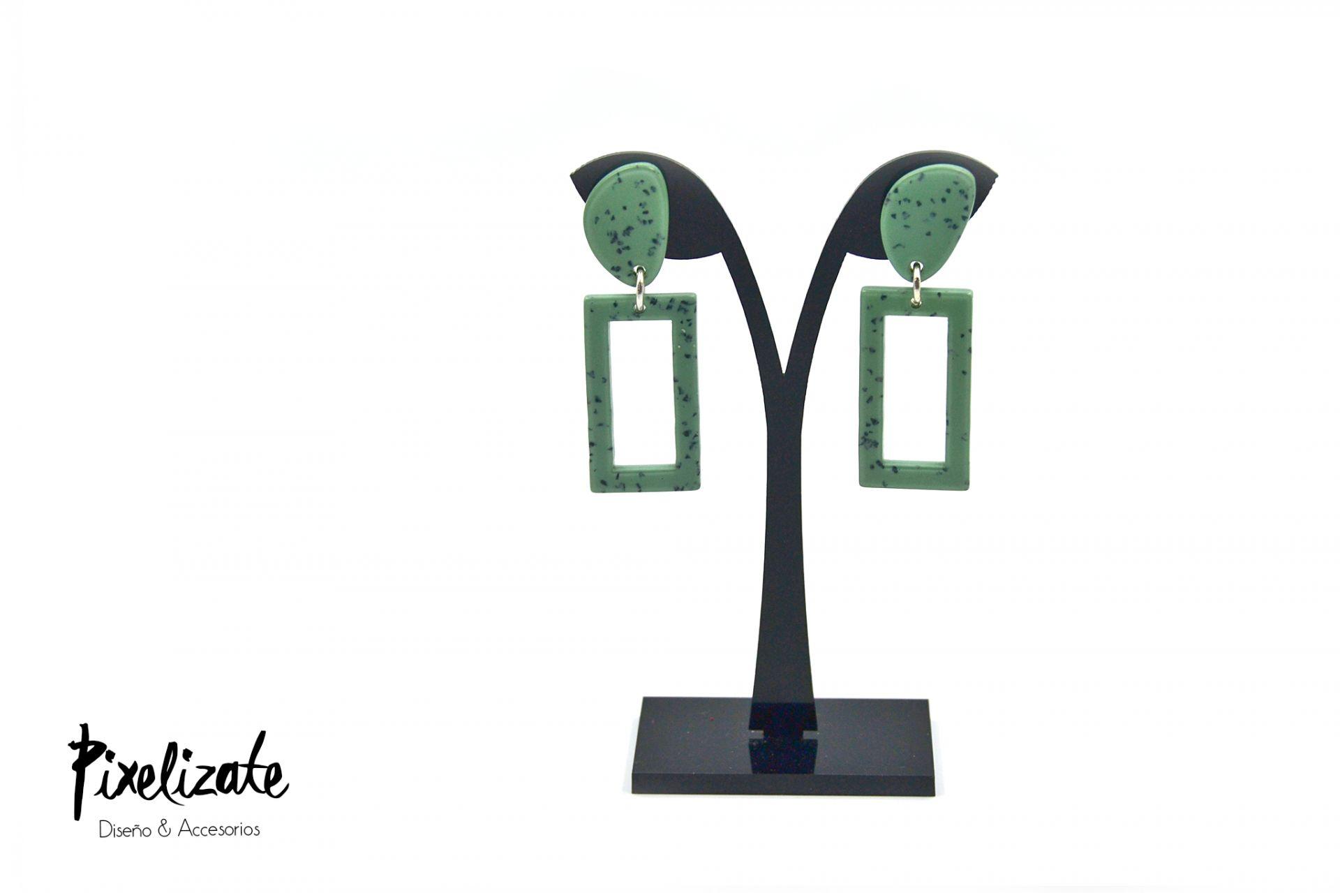 Pendientes Granito Verde