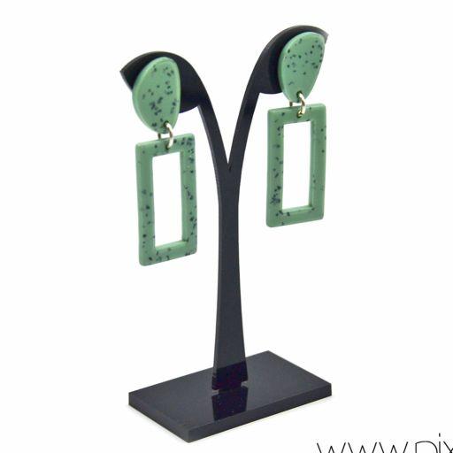 Pendientes Granito Verde [1]