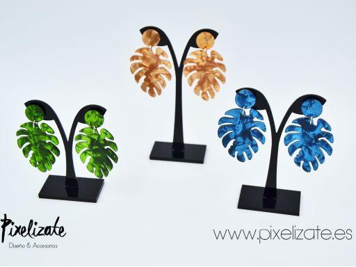 Pendientes Palm Green [3]