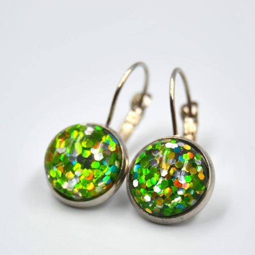 Pendientes Party Verde