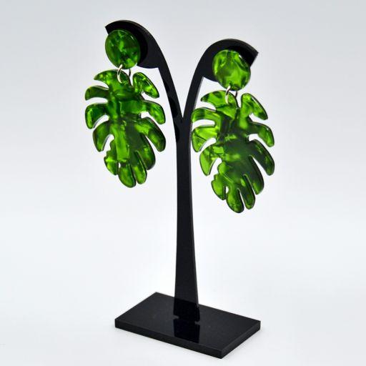 Pendientes Palm Green [1]