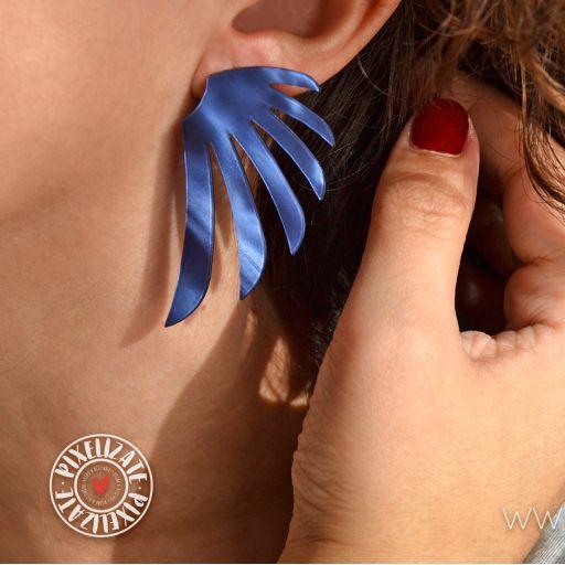 Pendientes Alas Azul [2]