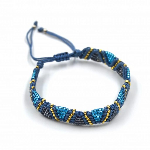 Pulsera Etnik Azul