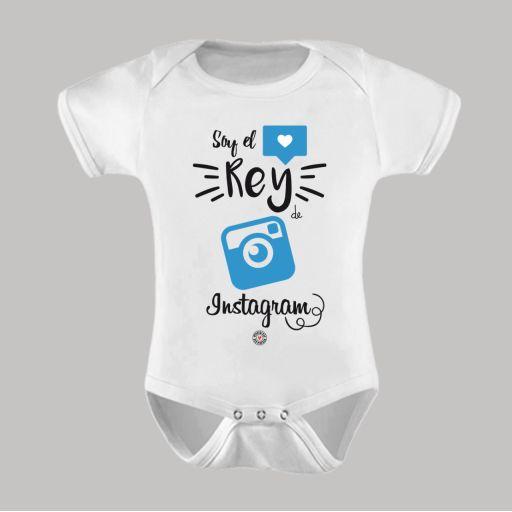Body Bebé Soy el Rey de Instagram