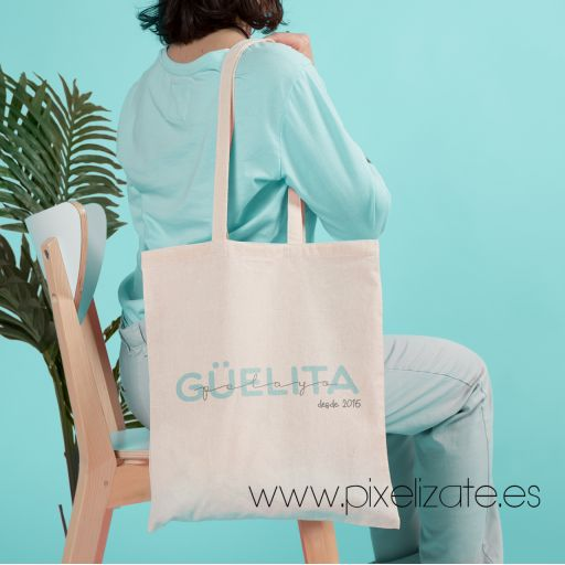 Bolsa de Tela Personalizada GÜELITA [1]