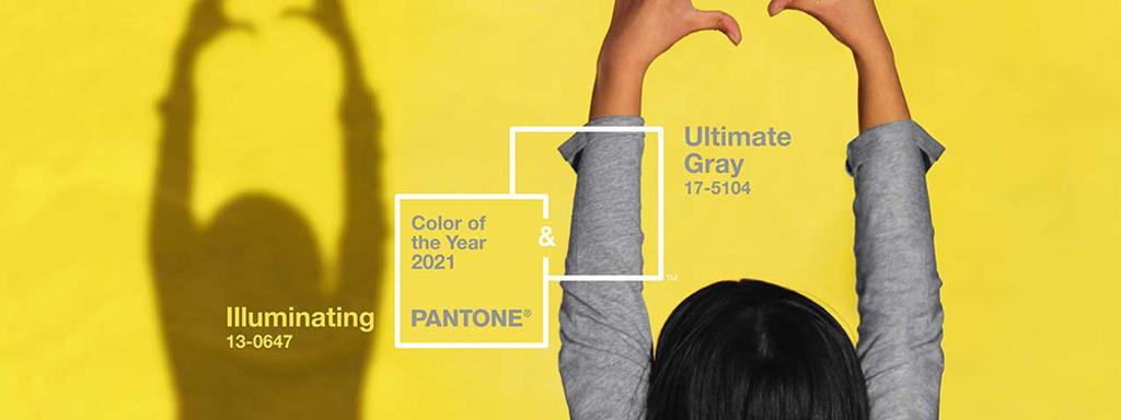 Pantone desvela el color del año 2021: Illuminating + Ultimate Gray