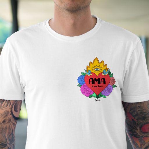 Camiseta Unisex Ama lo que Haces [1]