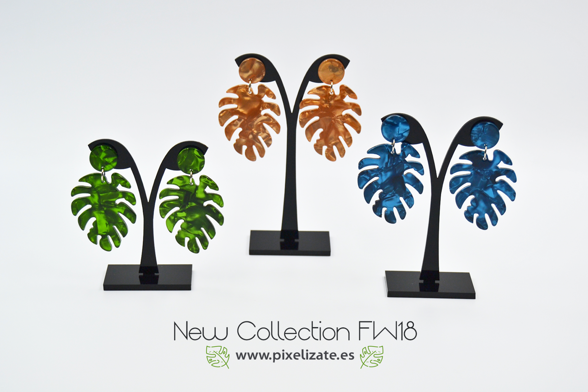 Pendientes Palm