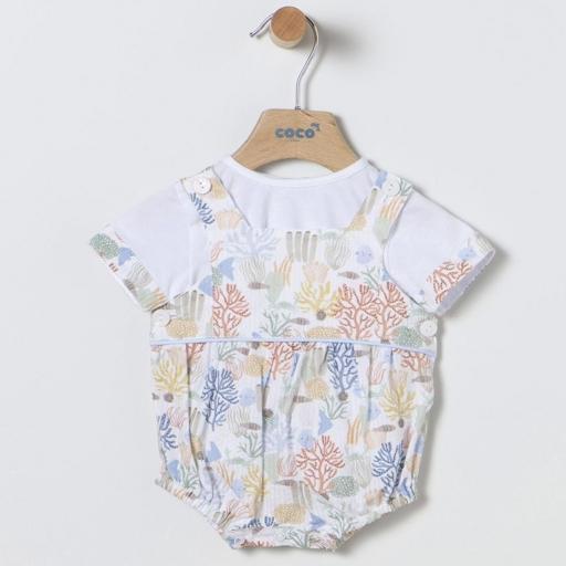 Peto y camiseta Coco Acqua