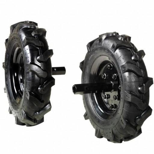 Juego de ruedas neumáticas para Oleo Mac MH 197 RK