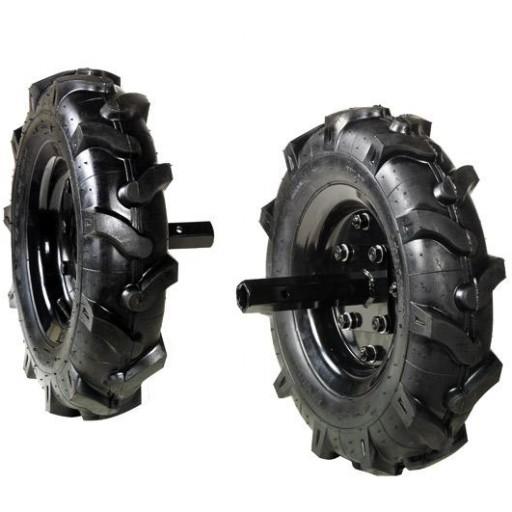 Juego de ruedas neumáticas 400 x 8 para Oleo Mac MH 190.