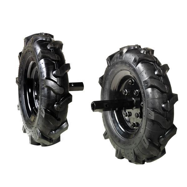 Juego de ruedas neumáticas 400 x 8 para Oleo Mac MH 180.