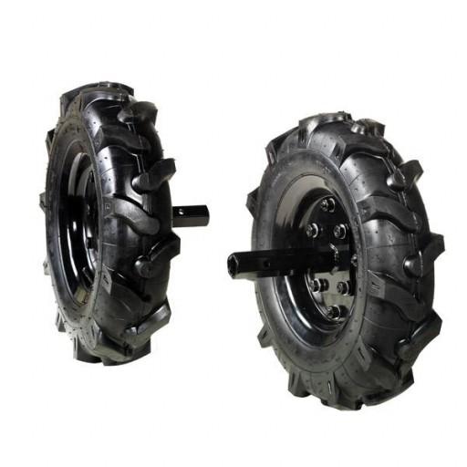 Juego de ruedas neumáticas 350 x 8 para Bertolini 205 / S. [0]