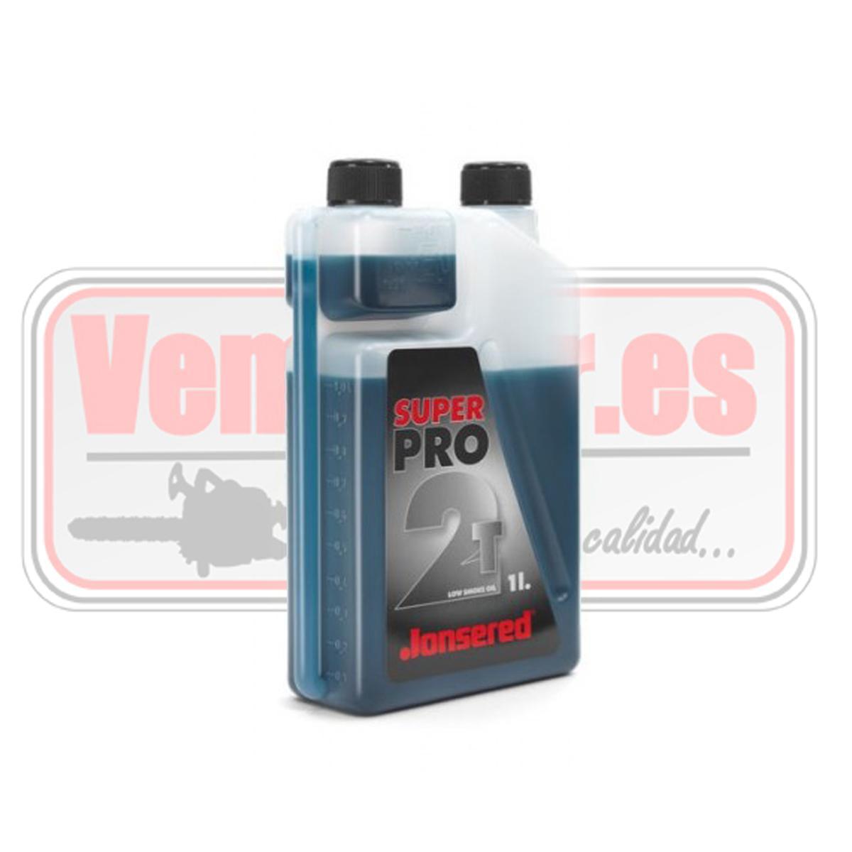 Aceite 2T Jonsered Super Pro 1 Litro dosificador