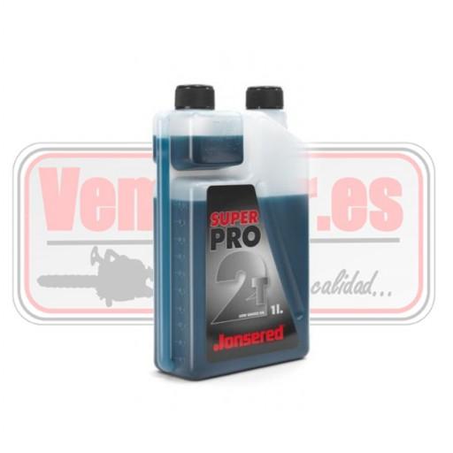 Aceite 2T Jonsered Super Pro 1 Litro dosificador [0]