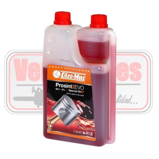 Aceite 2T Oleo Mac Prosint 2 EVO con dosificador Mezcla
