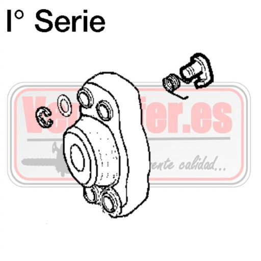 Arrastrador de arranque Oleo Mac BC 420 Serie 1ª