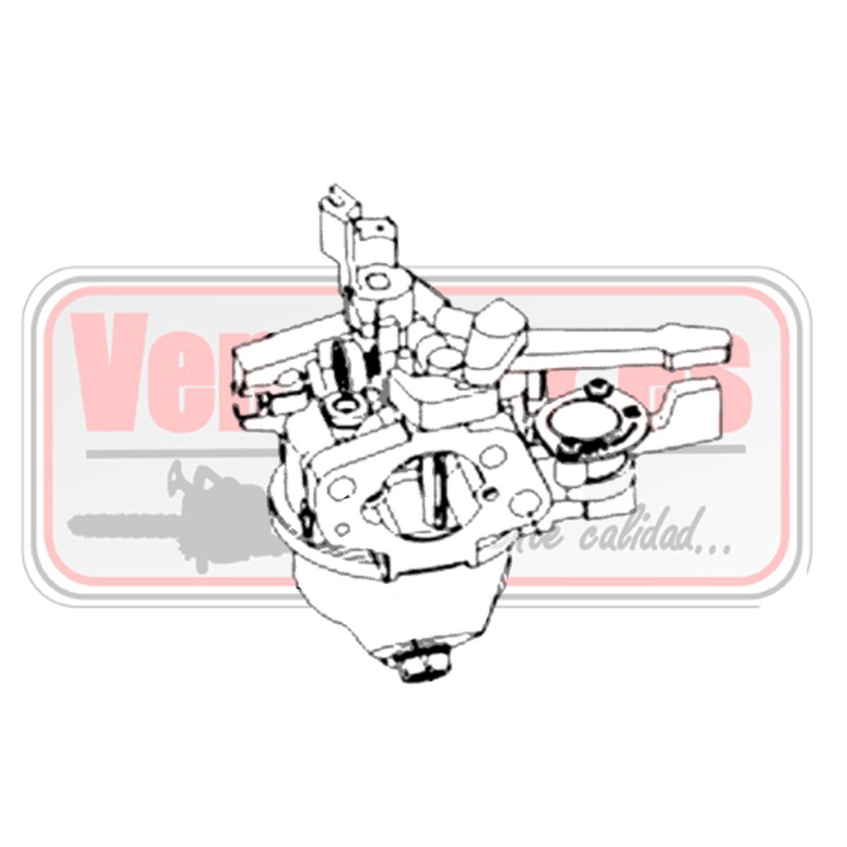 Carburador Bertolini 205S